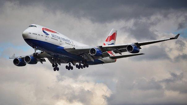 The Plane, Aircraft, Jet, Transport, Jumbo Jet