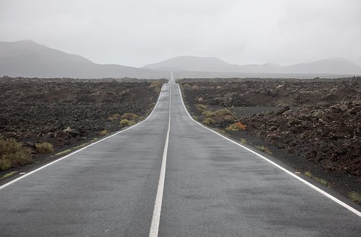 Road, Asphalt, Highway, Travel, Empty, Vanishing Point