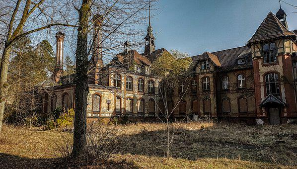 Architecture, Old, Building, Home, Leave, Old House