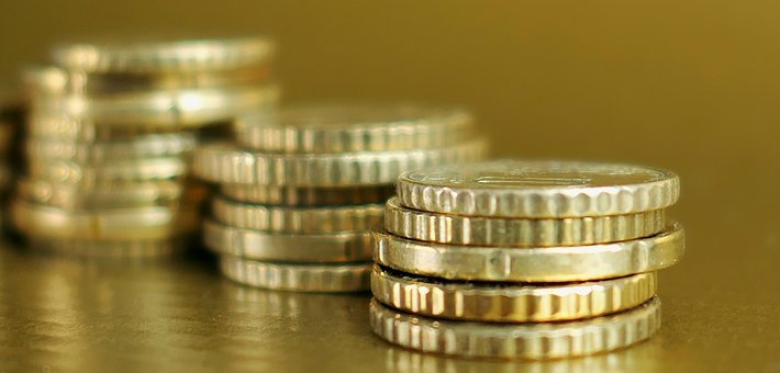 Savings, Golden, Finance, Wealth, Currency, Euro Cent