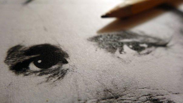 Desktop, Drawing, Face