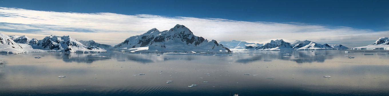 Panoramic Image, Panorama, Snow, Nature, Landscape