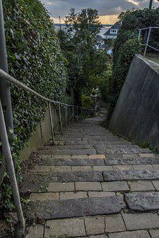 Stone, Level, Architecture, Path, Road, Staircase
