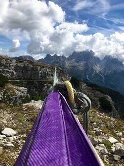 Travel, Nature, Mountain, Sky, Rope, Climb