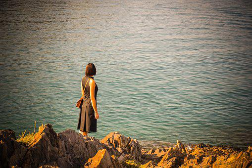 Body Of Water, People, Sea, Outdoors, Travel, Costa