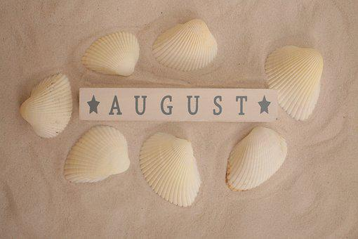 August, Summer, Daylight Saving Time, Sink, Beach, Sand