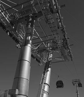 Industry, Technology, Sky, Steel, No Person