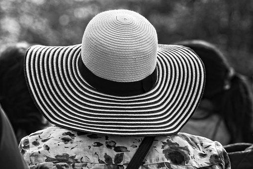 Straw Hat, Hat, Woman's Hat, Summer Hat, Brim, Crown