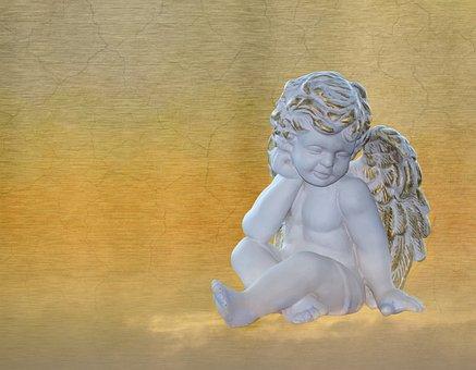 Angel, Sculpture, Art, Statue, Religion, Antiquity