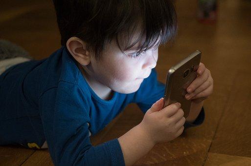 Boy, Mobile Phone, Addiction, Phone, Mobile