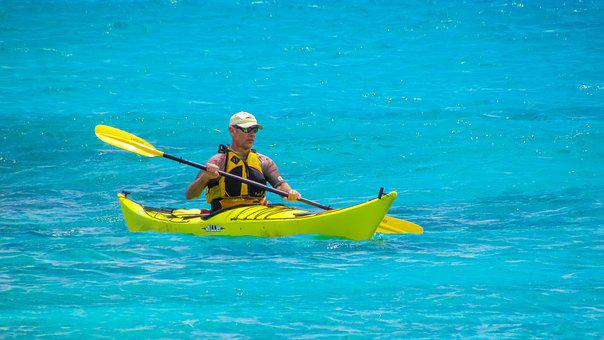 Water, Ocean, Canoe, Sea, Summer, Kayak, Leisure, Fun