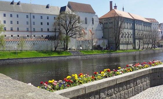 Castle, Brewery, Czechia, Architecture, Water, Building