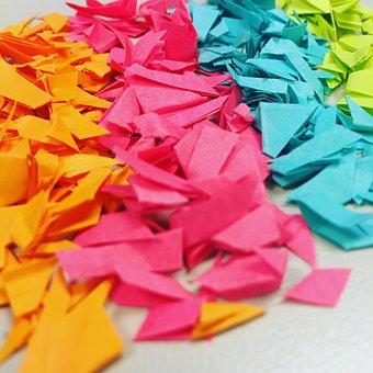 Paper, Decoration, Bright, Pattern, Color, Shape