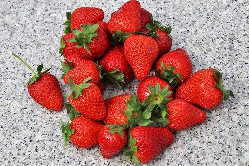 Red, Strawberries, Fit, Vitamins, Diet, Fruit, Healthy