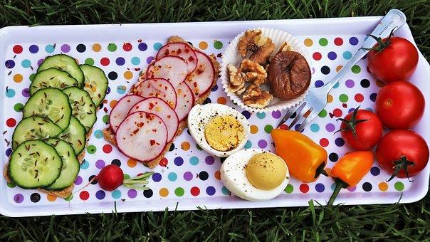 Vegetables, Eating, Healthy, Diet, Appetizer, Dinner