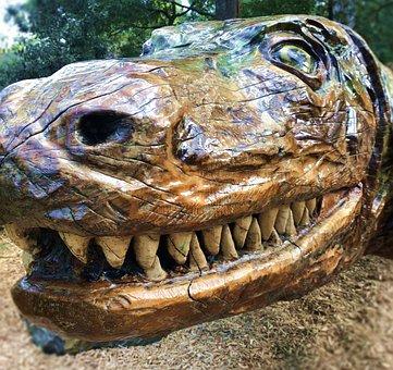 Reptile, Dinosaur, Nature, Animal, Wildlife, Mouth