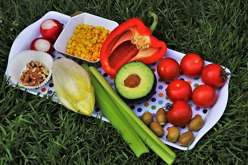 Diet, Vegetables, Tomatoes, Dish, Colorful, Tasty, Fit