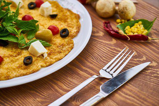 Omelet, Egg, Breakfast, Background, Healthy Lifestyle