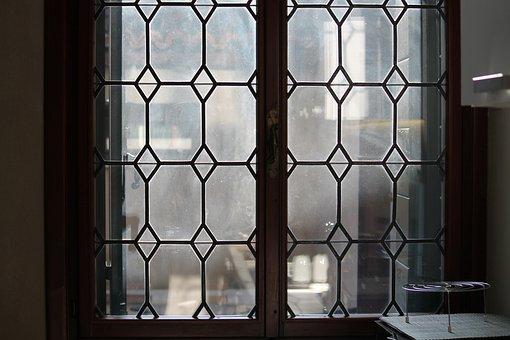 Window, Architecture, House, Door, Inside, Indoors, Old