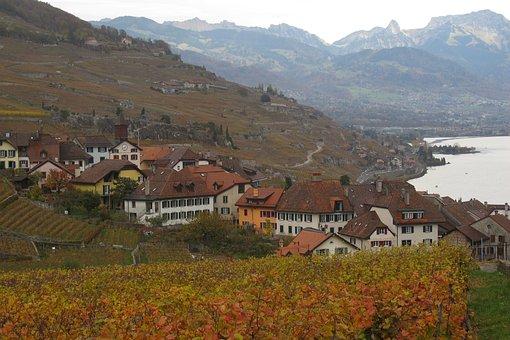 Nature, Mountain, Landscape, House, Hill