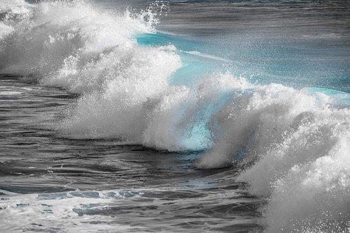 Surf, Water, Wave, Sea, Ocean, Splash, Liquid, Nature