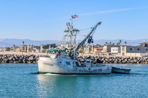 Sea, Waters, Port, Ship, Boot, Nautical