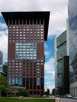 Architecture, City, Skyscraper, Office, Modern, Sky