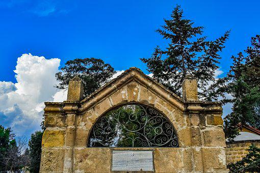Architecture, Entrance, Cemetery, Old, Travel, Stone