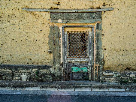 Door, Aged, Weathered, Decay, Architecture, Wall, Old