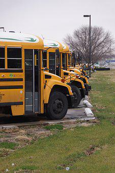 Outdoors, Transportation System, Vehicle, School Bus