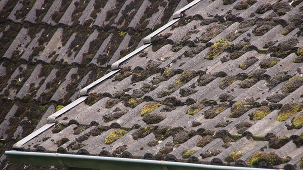 Roof, Roof Renovation, Old, Weathered, Damaged, Slate