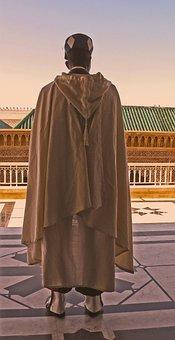 Guard, Soldier, Architecture, Robe, Fashion, Tomb