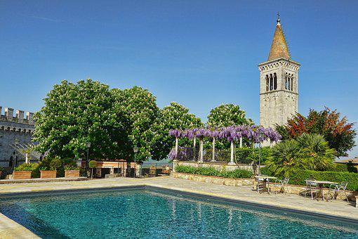 Travel, Architecture, Swimming Pool, Spring