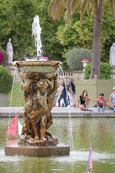 Fountain, Body Of Water, Travel, Statue, Sculpture