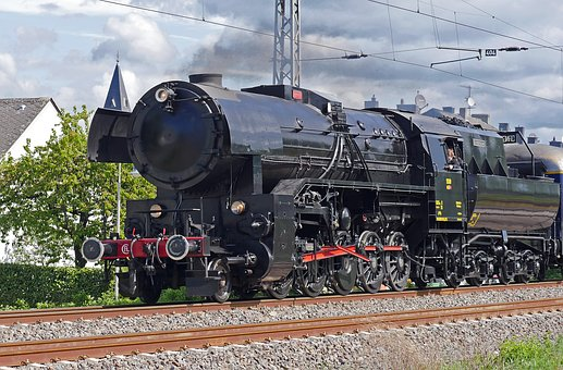 Steam Locomotive, Cfl, Luxembourgish