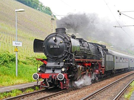 Steam Locomotive, Express Train, Event
