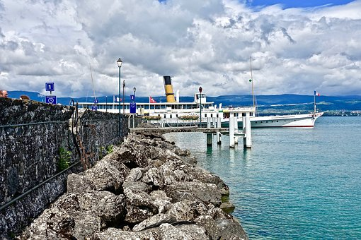 Steamer, Boat, Leisure, Sea, Water, Seashore, Sky