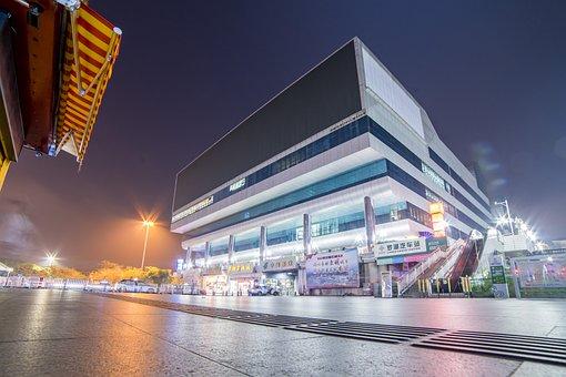Building, City, Road, Illuminated, Tourism, Street