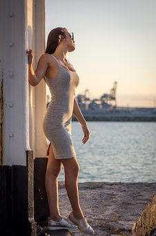 Woman, Water, Body, Sexy, Young, Lifestyle, Adult