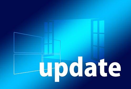 Update, Window, Open, Blue, Operating System, Windows