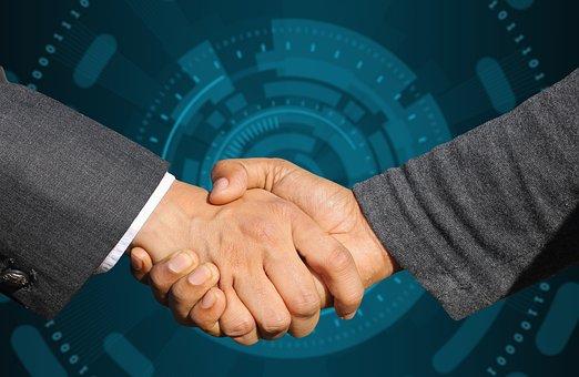 People, Handshake, Business, Agreement, Meeting