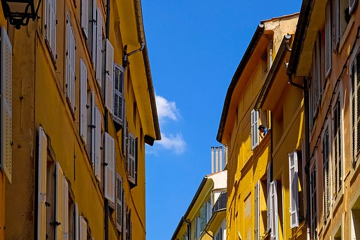 Architecture, Building, House, Facade, Window, Colorful