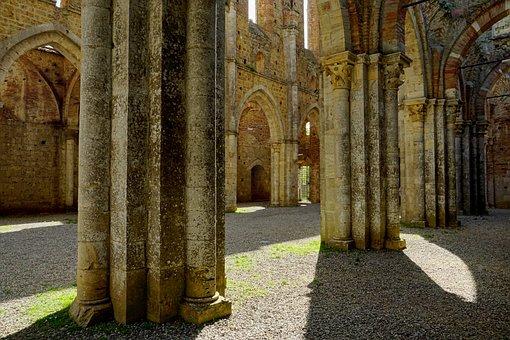 Architecture, Travel, Old, Pillar, Ruin