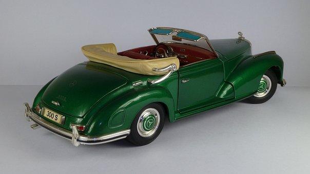 Mercedes, 300 S, Cabrio, 1955, 300s, Covertible, 1x18