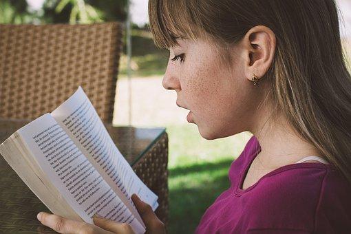 Read, Girl, Reading, Learn, Child, Focus, Imagine