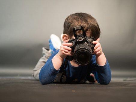 Child, Photograph, Photo, Digital Camera, Recording