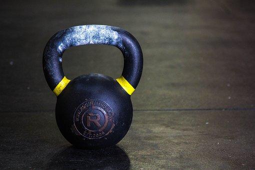 Kettlebell, Gym, Fitness, Workout, Equipment