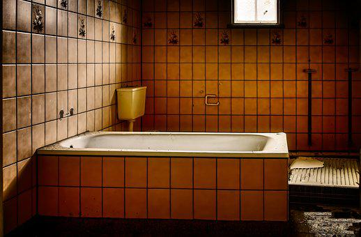 Tub, Swim, Washroom, Hospital, Lost Places