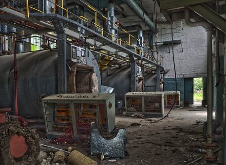 Lost Places, The Boiler Room, Abandoned, Old