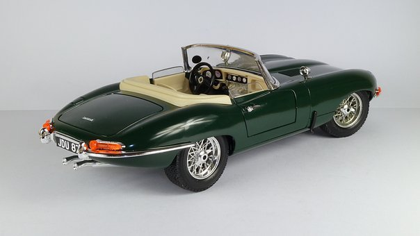 Jaguar, Jaguar E, Model Car, E-type, Convertible